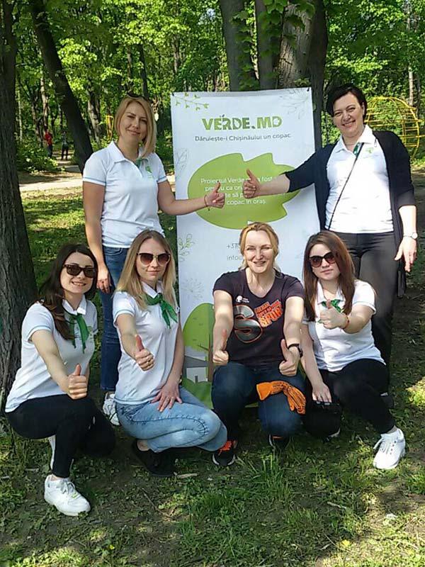«Cибирское здоровье» озеленяет Молдову