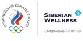 Логотип Олимпийского комитета России и Корпорации «Сибирское здоровье»