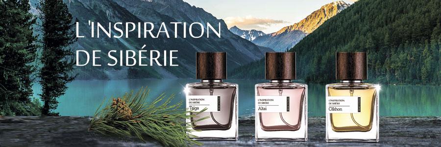 L'INSPIRATION DE SIBÉRIE. Серия нишевой парфюмерии