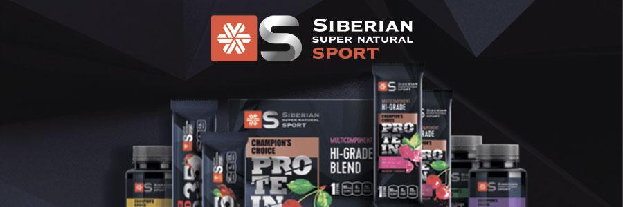 Siberian Super Natural Sport. Натуральные мультикомпонентные протеины с яркими вкусами!