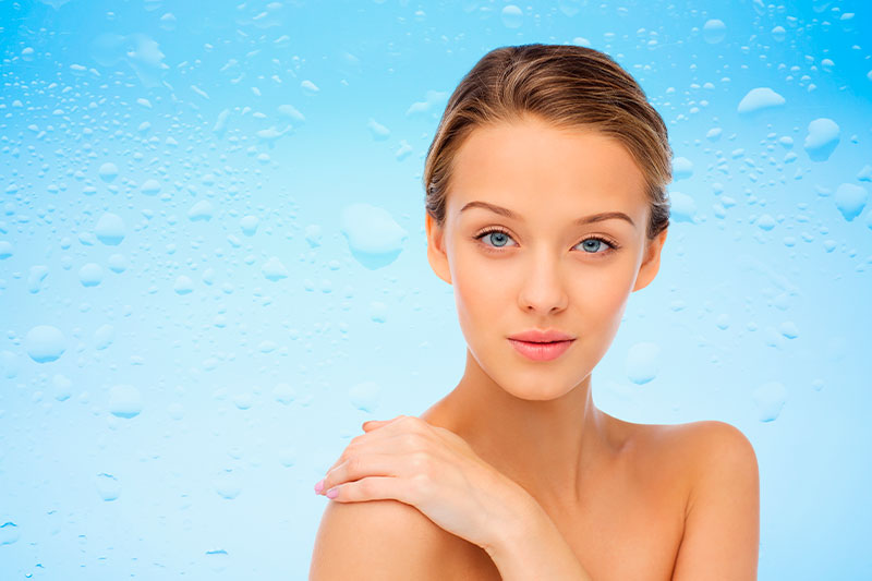 Увлажнение и защита кожи лица с помощью гиалуроновой кислоты