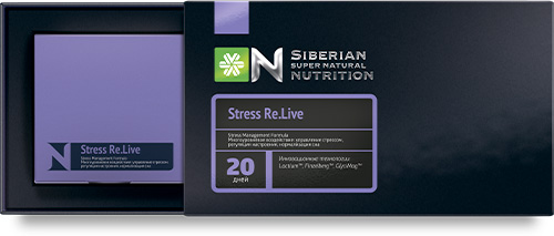 Siberian Super Natrual Nutrition. Stress RE.Live