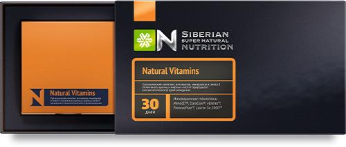 Siberian Super Natrual Nutrition. Natural Vitamins