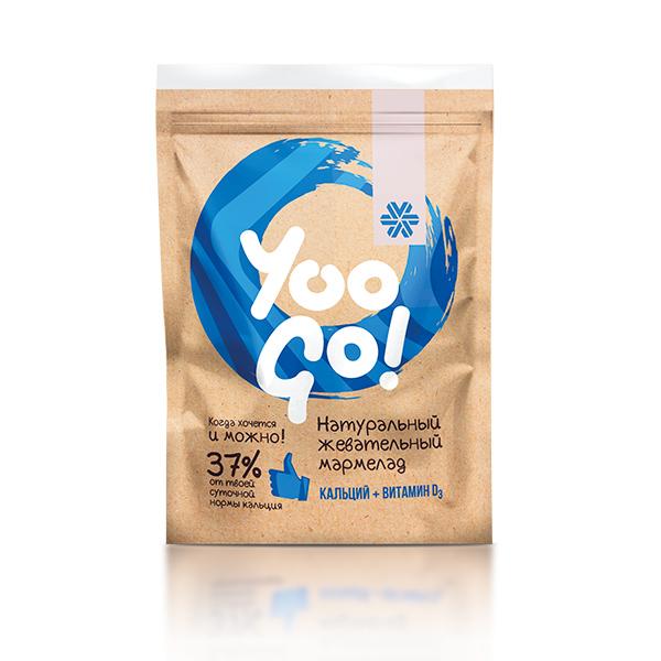 Yoo Go. Žvýkácí s vápníkem