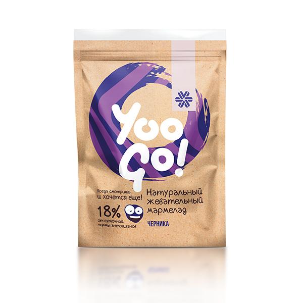 Yoo Go. Žvýkací s borůvkami