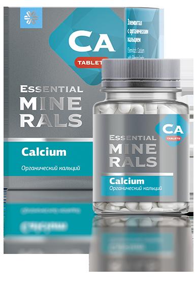 «Органический кальций» серии Essential Minerals в таблетках