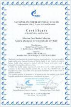 Certificate Szampon do włosów farbowanych i suchych