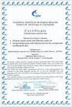 Certificate Siberian Pure Herbs Collection. Osvěžující maska ze sibiřských bobulí pro normální až smíšenou pokožku, 75 ml