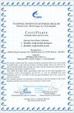 Certificate Ziołowy szampon do włosów