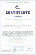 Certificate БАД Тригельм.  ТРЕХФАЗНАЯ АНТИПАРАЗИТАРНАЯ ПРОГРАММА