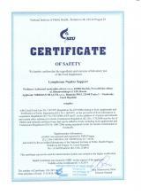 Certificate Doplněk stravy - Lymphosan Nephro Support, 90 g