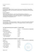 Verkehrsfähigkeitsbescheinigung  NEM Synchrovitals II, 60 Kapseln
