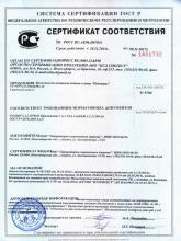 Сертификат соответствия Przeciwzmarszczkowy tonik do twarzy