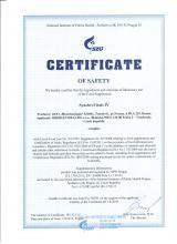 Certificate_en Doplněk stravy - SynchroVitals IV, 60 kapslí