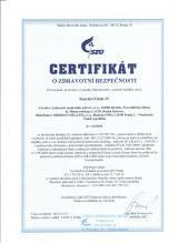 Certificate_cz Doplněk stravy - SynchroVitals IV, 60 kapslí
