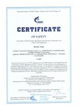 Certificate of safety Bylinný čaj - Baelen Amin, 25 sáčku