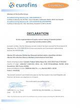 Declaration SIBERIAN SPA Sibiřský bez  Obnovující pleťová maska s okamžitým účinkem, 75 ml