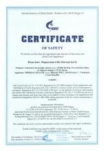Certificate of safety<br>Elemvitals. Magnesium with Siberian herbs Doplněk stravy - Elemvitals. Magnesium with siberian herbs, 60 kapslí