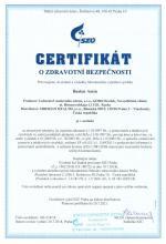 Certificate of safety (cz)<br>Baelen Amin Bylinný čaj - Baelen Amin, 25 sáčku