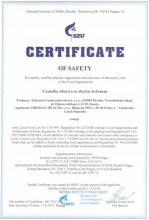 Certificate of safety Doplněk stravy - Camellia sibirica se zlatým kořenem, 15 sáčků