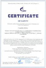 Certificate of safety Doplněk Stravy - Camellia sibirica, 15 sáčků