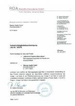 Verkehrsfähigkeitsbescheinigung Doplněk stravy - Stříbrný Elixír, 150 ml