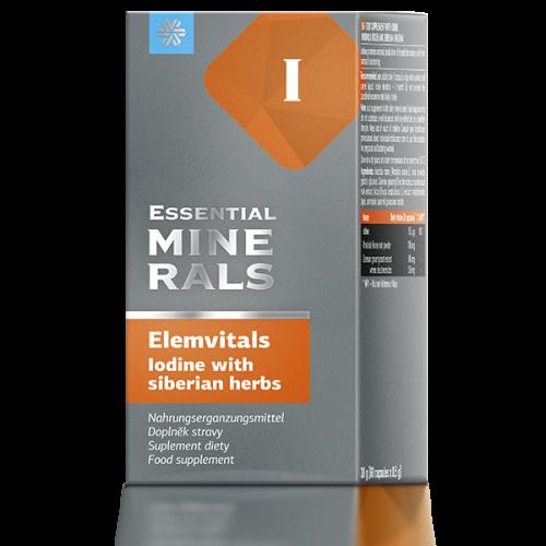 Elemvitals. Iodine with siberian herbs