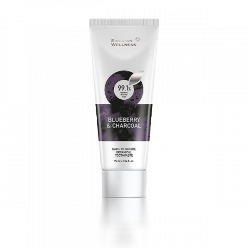 Blueberry and Charcoal Toothpaste